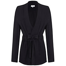 Buy Ghost Elanor Satin Jacket, Black Online at johnlewis.com