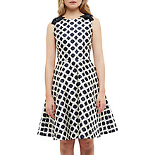 Buy Ted Baker Tandi Blushing Roses Geo Dress, Navy Online at johnlewis.com