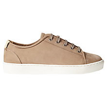 Buy Jigsaw Ayda 2 Flat Trainers, Taupe Online at johnlewis.com