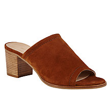 Buy John Lewis Jasmine Mule Block Heeled Court Shoes Online at johnlewis.com