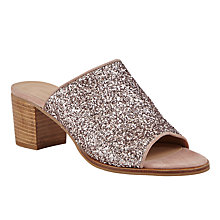 Buy John Lewis Jasmine Mule Block Heeled Sandals Online at johnlewis.com
