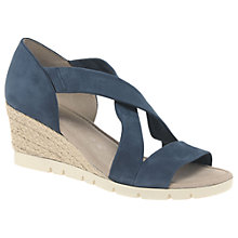 Buy Gabor Lisette Wide Fit Cross Strap Sandals Online at johnlewis.com