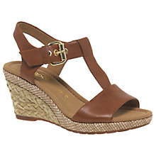 Buy Gabor Karen Wide Fit Wedge Heeled Sandals Online at johnlewis.com