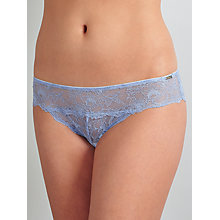 Buy Somerset by Alice Temperley Coco Lace Brazilian Briefs, Blue Online at johnlewis.com