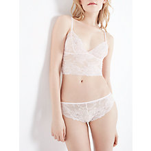 Buy AND/OR Karon Crop Top, Petal Online at johnlewis.com