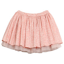 Buy Wheat Disney Girls' Woven Cinderella Print Skirt, Pink Online at johnlewis.com