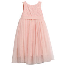 Buy Wheat Disney Girls' Princess Tulle Dress, Pink Online at johnlewis.com
