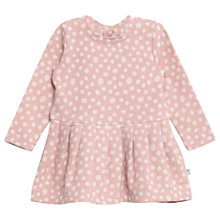 Buy Wheat Girls' Disa Jersey Dress, Pink Online at johnlewis.com