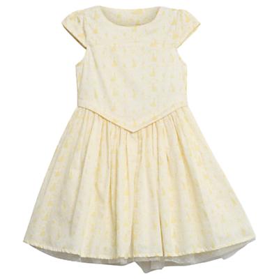 Vintage Style Children's Clothing: Girls, Boys, Baby, Toddler Wheat Disney Girls Belle Dress Ivory £54.00 AT vintagedancer.com