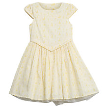 Buy Wheat Disney Girls' Belle Dress, Ivory Online at johnlewis.com