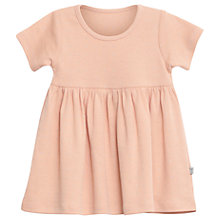 Buy Wheat Girls' Nova Star Print Dress, Pink Coral Online at johnlewis.com
