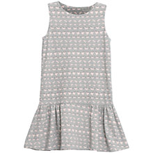 Buy Wheat Girls' Ellie Sleeveless Jersey Dress, Light Grey Online at johnlewis.com