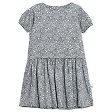 Buy Wheat Girls' Aretha Printed Dress, Grey Online at johnlewis.com