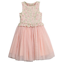 Buy Wheat Disney Girls' Princess Ariel Tulle Dress, Pink Online at johnlewis.com