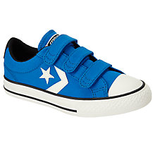 Buy Converse Children's Star Player 3V Triple Riptape Shoes Online at johnlewis.com
