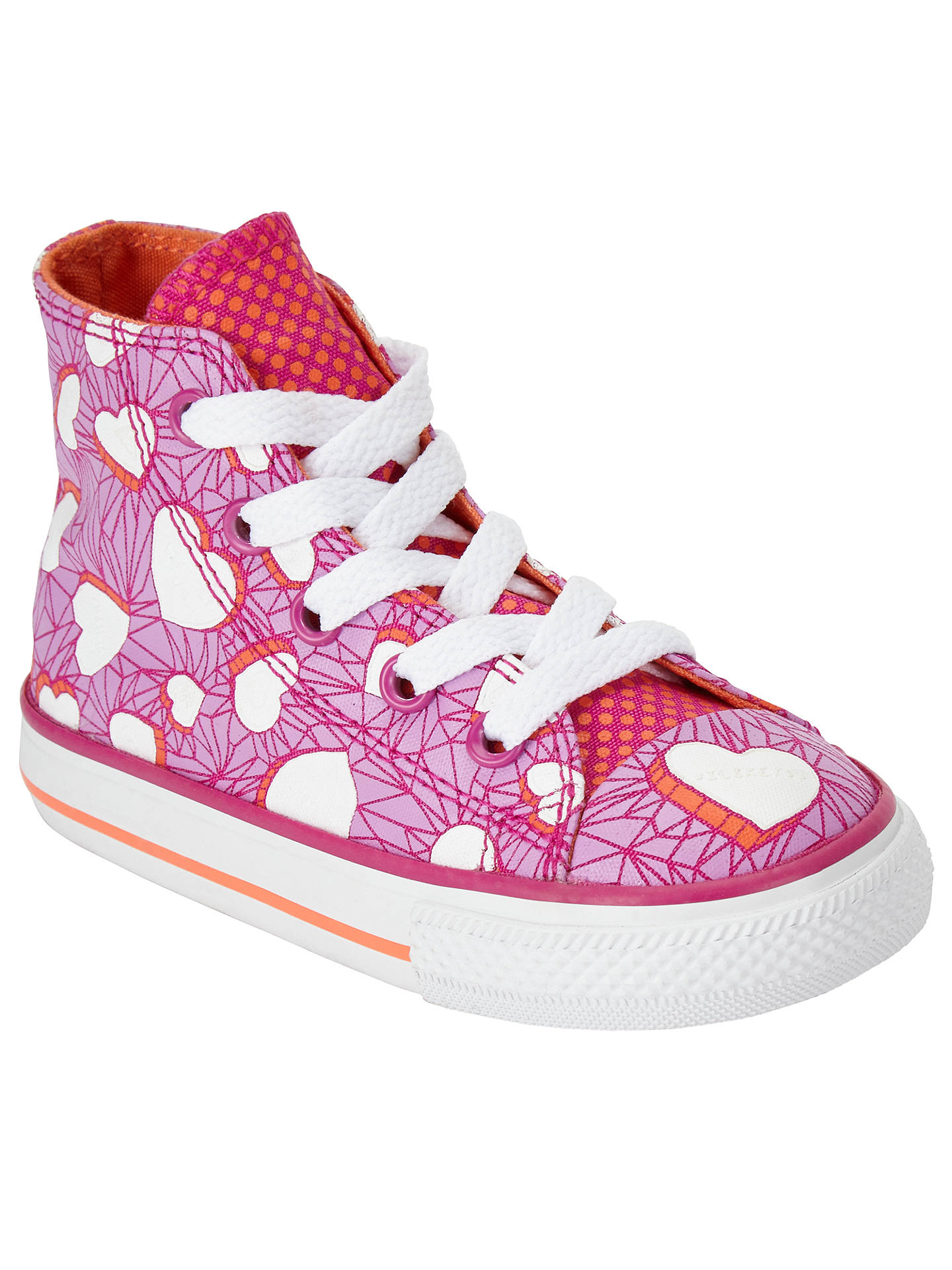BuyConverse Children s Hi Top Valentine Heart Shoes 8065b1f3c