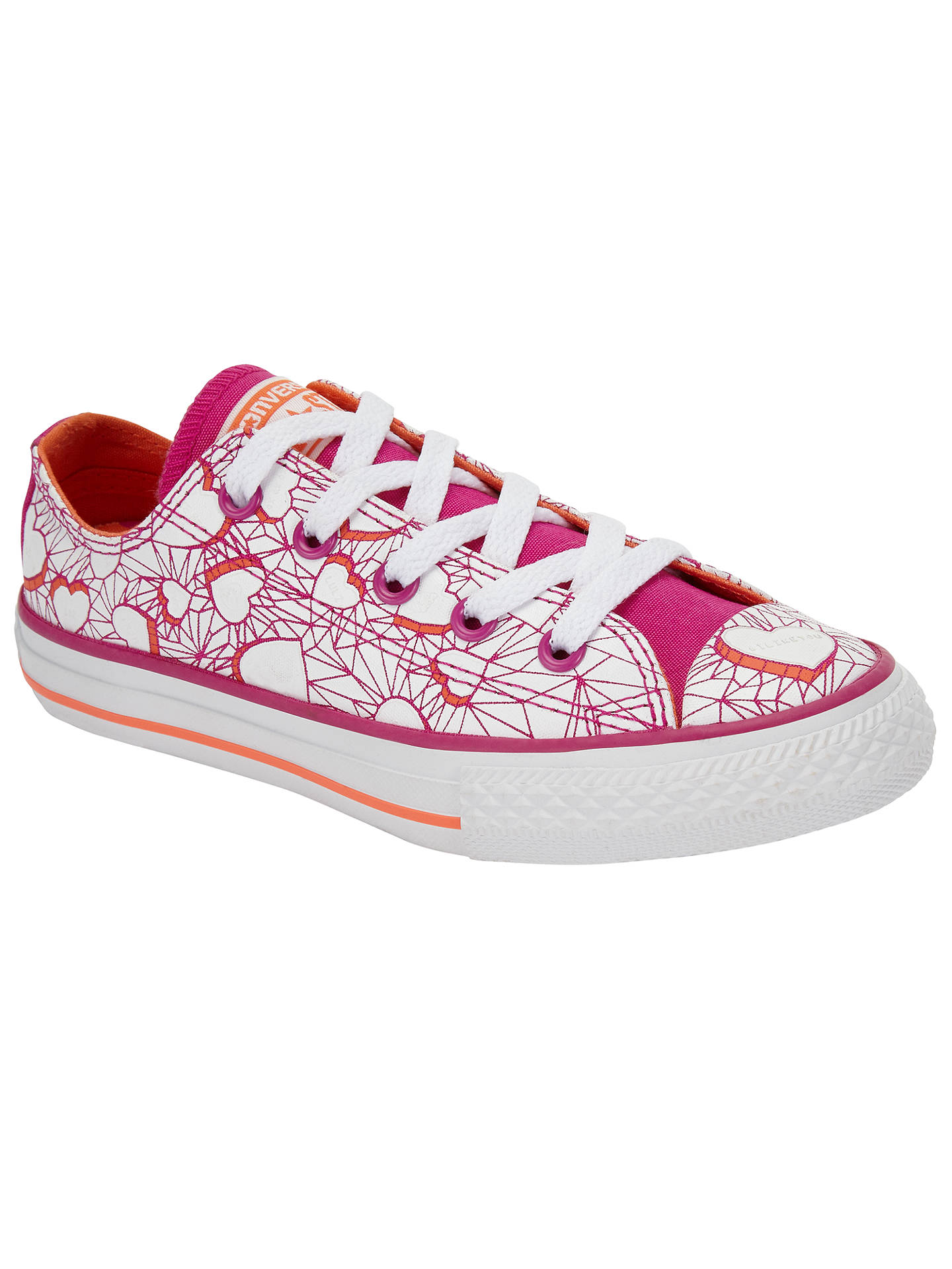 BuyConverse Children s Low Top Valentine Heart Shoes 240ddd726