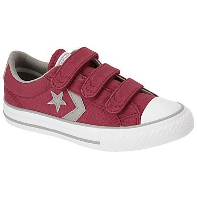 Converse Children's Star Player 3V Triple Riptape Shoes