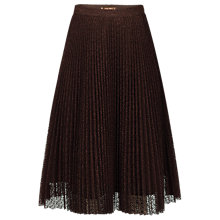 Buy Jolie Moi Pleated Lace A-Line Skirt Online at johnlewis.com