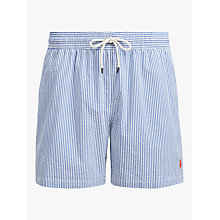 Buy Polo Ralph Lauren Seersucker Stripe Swim Shorts Online at johnlewis.com
