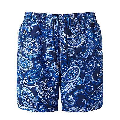 Polo Ralph Lauren Paisley Print Swim Shorts, Blue