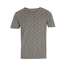 Buy HYMN Marbles Graphic Print T-Shirt, Grey Online at johnlewis.com
