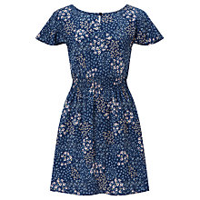 Buy John Lewis Children's Ditsy Dress, Blue Online at johnlewis.com