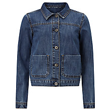 Buy John Lewis Children's Denim Jacket, Light Blue Online at johnlewis.com