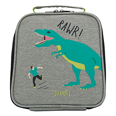 Little Joule Children's Dinosaur Print Munch Lunch Box Bag, One size