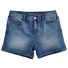 Buy Calvin Klein Denim Shorts, Blue Pearl Online at johnlewis.com
