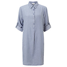Buy Max Studio Stripe Shirt Dress, Chambray Denim Stripe Online at johnlewis.com
