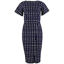 Buy Closet Wrap Front Dress, Navy Online at johnlewis.com