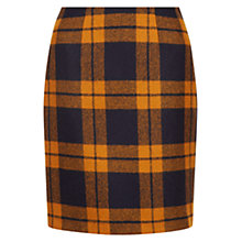 Buy Hobbs Philippa Skirt, Blue/Orange Online at johnlewis.com
