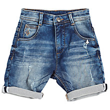 Buy Angel & Rocket Boys' Vinnie Denim Shorts, Blue Online at johnlewis.com