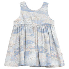 Buy Wheat Baby Pinafore Wrinkles Dress, Blue Online at johnlewis.com