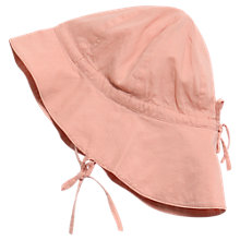 Buy Wheat Baby Sun Hat, Pink Online at johnlewis.com