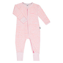 Buy Bonds Baby Lunar Dreams Zip Wondersuit Sleepsuit, Neo Pink Online at johnlewis.com