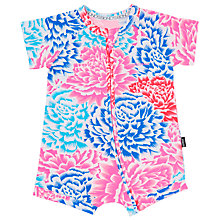 Buy Bonds Baby Zip Wondersuit Tokyo Romper, Pink/Multi Online at johnlewis.com