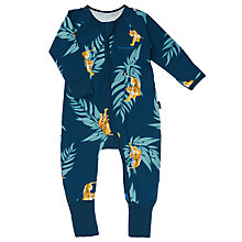 Buy Bonds Baby Zip Wondersuit Crouch Tiger Sleepsuit, Blue/yellow Online at johnlewis.com