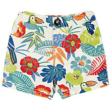 Buy John Lewis Baby Cuba Tropical Shorts, Multi Online at johnlewis.com