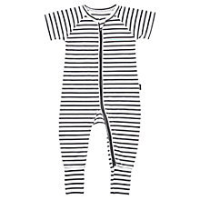 Buy Bonds Baby Zip Wondersuit Solar System Sleepsuit, Grey/White Online at johnlewis.com
