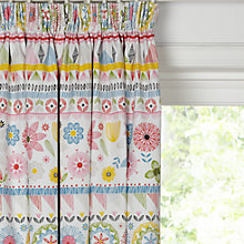 Buy little home at John Lewis Geo Pencil Pleat Blackout Lined Curtains Online at johnlewis.com