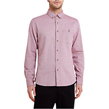 Buy HYMN Sandcastle Herringbone Long Sleeve Shirt Online at johnlewis.com