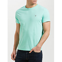 Buy Gant Cotton Crew Neck T-Shirt Online at johnlewis.com