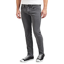 Buy Diesel Thommer Stretch Cotton Skinny Jeans, Grey 0681D Online at johnlewis.com