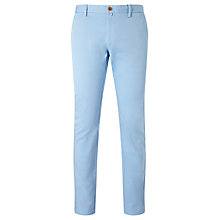 Buy Gant Slim Comfort Chinos, Capri Blue Online at johnlewis.com