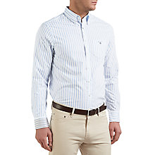 Buy Gant Sport Stripe Shirt, Nautical Blue Online at johnlewis.com
