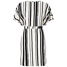 Buy Miss Selfridge Stripe Tie Kimono Dress, Multi Online at johnlewis.com