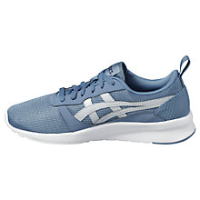 Buy Asics Tiger Lyte Jogger Men's Trainers, Blue/Grey Online at johnlewis.com