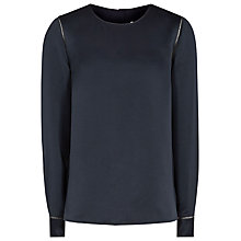 Buy Reiss Cecile Long Sleeve Blouse Online at johnlewis.com